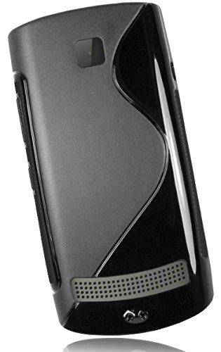 Mumbi TPU Silikon Schutzhülle für Nokia Asha 303