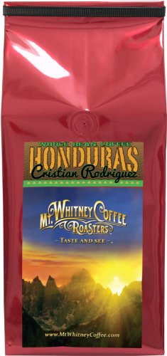 Mt. Whitney Coffee Roasters: 2 Lb. High Grown Cristian Rodriguez, Single Origin, Medium Roast, Whole Bean Arabica Coffee