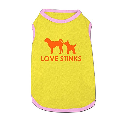 [Love Stinks Fashion Dog Hoodie Dog Coat For Dog] (Red Baron Pet Costume)