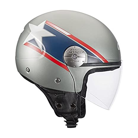 Jet Casque GIVI 10.7 MINI-J poupe USA - M