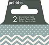 Pebbles Basics Ash Washi Tape