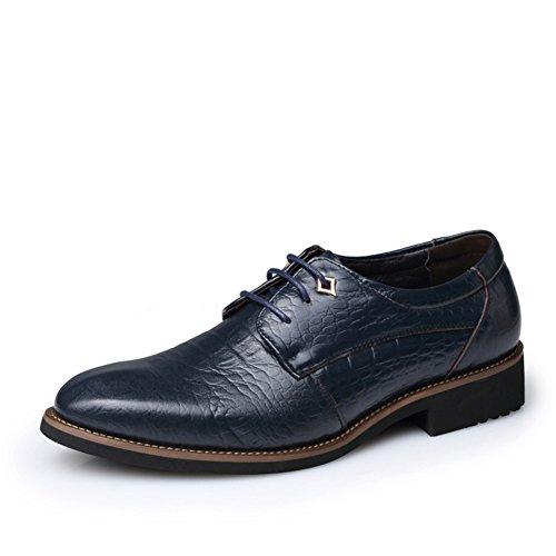 Scarpe/Pattini di vestito/Maschi britannico a punta MOCASSINI/Traspirante scarpe-C Lunghezza piede=25.3CM(10Inch)