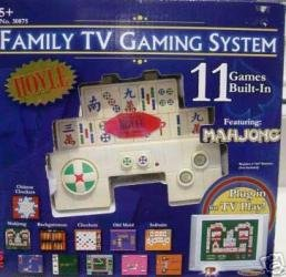 HOYLE FAMILY TV GAMING SYSTEM - 11 GAMES BUILT-IN - 1