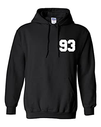 Zayn Malik 93 Unisex Mens Womens Hoodie Sweatshirt Jumper Pullover at