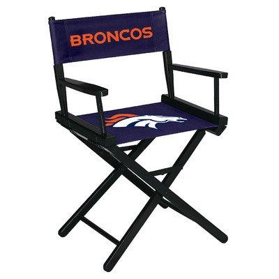 Nfl Denver Broncos Table Height Directors Chair