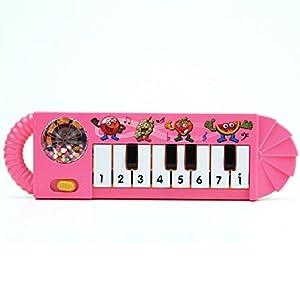 Piano Música Educación Instrumento Musical Juguete Infantil para Bébes Niños