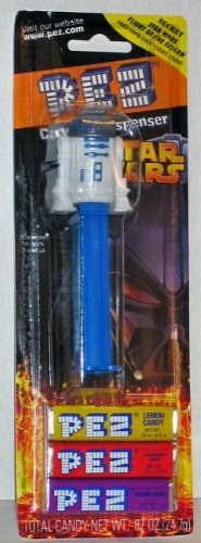 Pez Candy Dispenser: Star Wars R2-D2 Blister Card