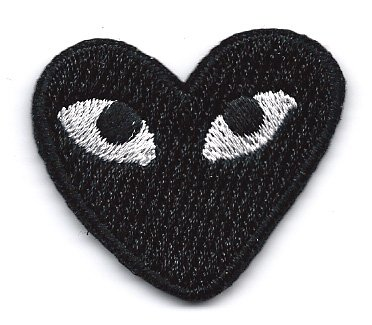 play-comme-des-garcons-black-heart-eyes-embroidered-iron-on-sew-on-patch