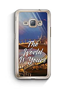 YuBingo The World is Yours Designer Mobile Case Back Cover for Samsung Galaxy J1 2016