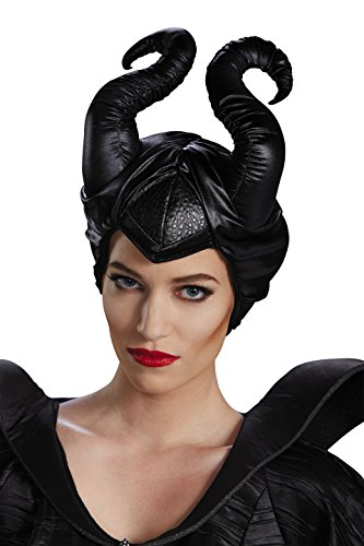 Halloween 2017 Disney Costumes Plus Size & Standard Women's Costume Characters - Women's Costume CharactersDisguise Women's Disney Maleficent Movie Horns Costume Accessory, Black, Adult