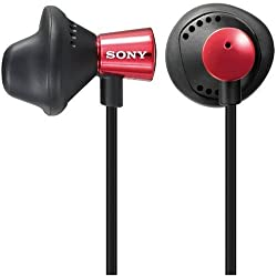 Sony MDR-ED12LP Fashionable In-ear headphones- Red