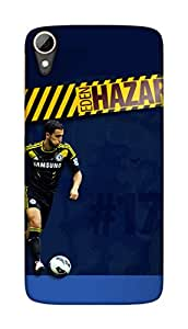Chelsea Football Club Design - HTC Desire 828 Mobile Hard Case Back Cover - Printed Designer Cover for HTC Desire 828 - HTCD828CFCB134
