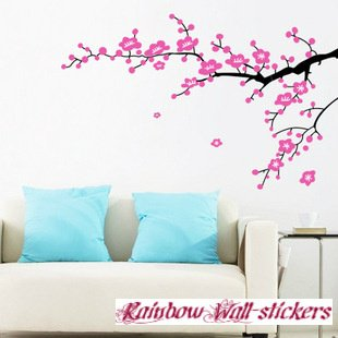Fe Bg Job Home: Wall Decor Removable Decal Sticker - Cherry ...