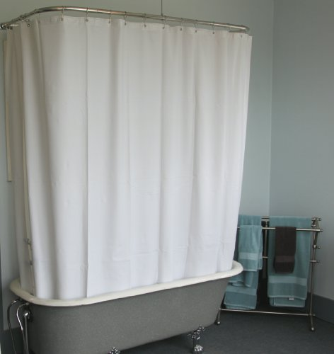 Where To Buy Curtain Rods Wide Fabric Shower Curtain
