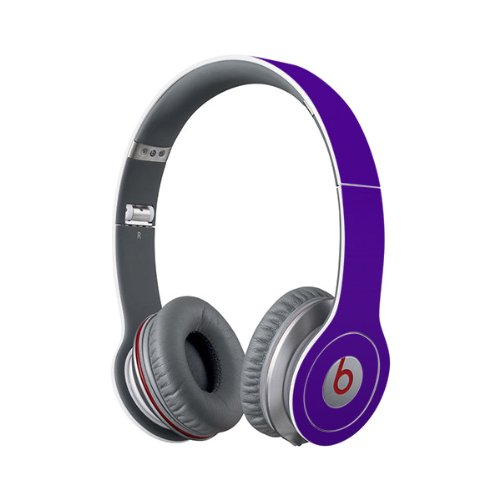Beats Solo Full Headphone Wrap In Purple (Headphones Not Included)
