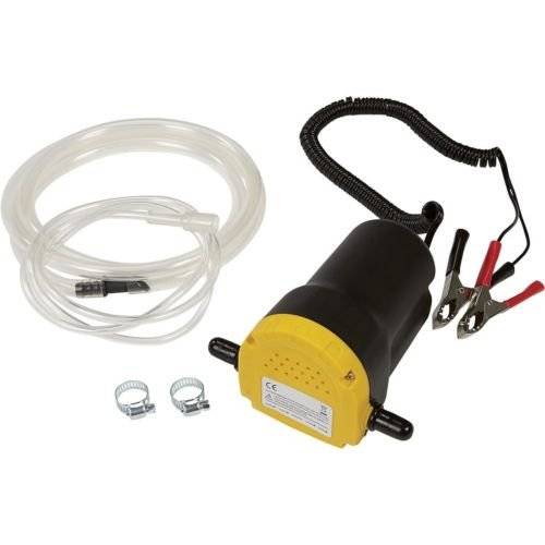 12V Fuel/Oil Extractor Pump and 8ft hose included (Electric Oil Pump 12v compare prices)