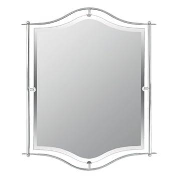 Quoizel Demitri 32-Inch Small Mirror, Polished Chrome Finish