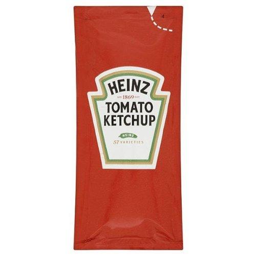 100 sachets Heinz Tomato Ketchup individuels