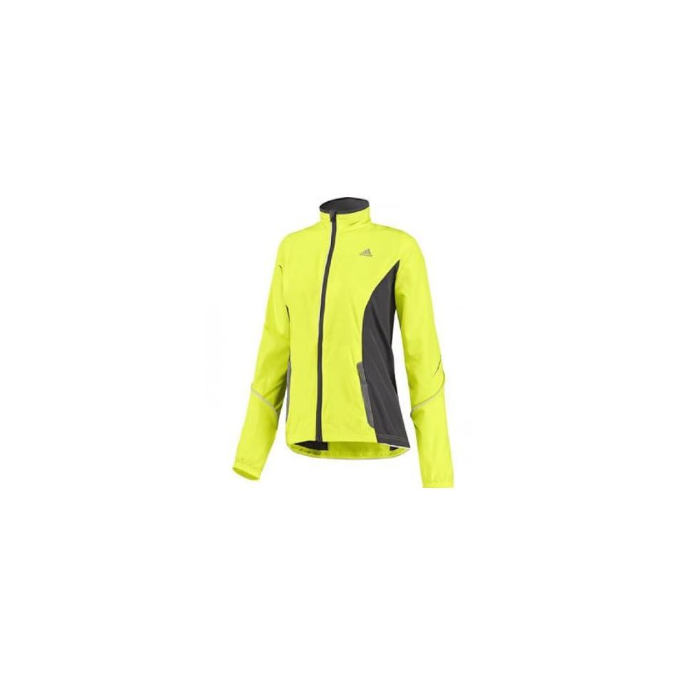 Adidas Lady AdiVIZ Running Jacket XX Large Yellow on PopScreen