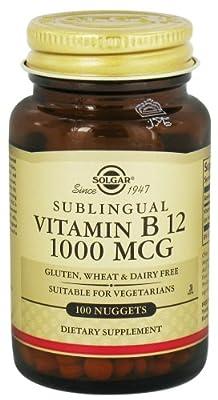 Solgar - Vitamin B12 Sublingual 1000 mcg.