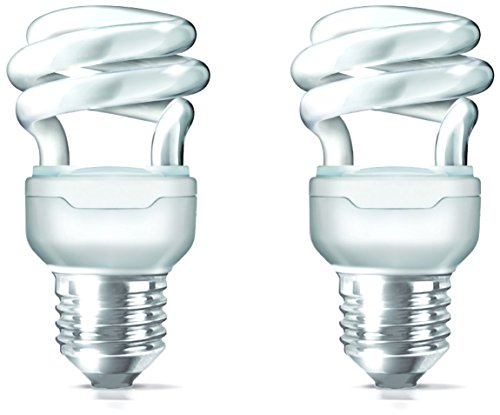 Tornado E27 8W CFL Bulb (Cool Day Light, Pack of 2)