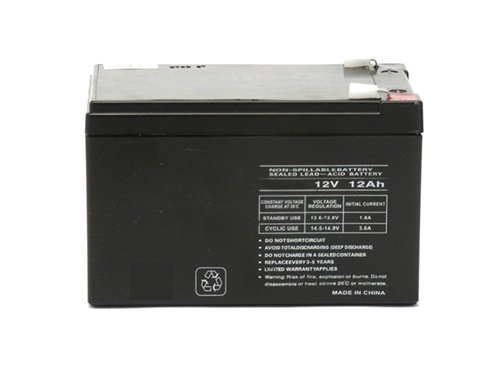 (1) 12 Volt 12ah Ebike Electric Scooter Battery