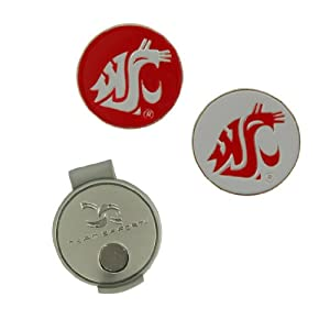 Washington State Hat Clip and Ball Markers