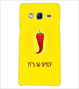 PrintDhaba Red Chilli D-2860 Back Case Cover for SAMSUNG Z3 (Multi-Coloured)
