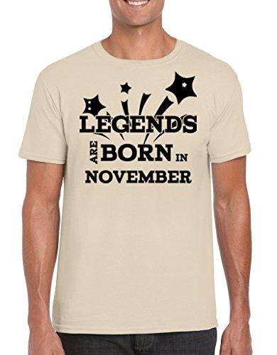 Pepperclub-Mens-Cotton-Round-Neck-Half-Sleeve-Tshirt-Legends-are-born-in-November