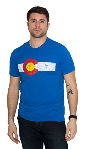 colorado-state-flag-distressed-unisex-t-shirt-vintage-look-co-denver-tee-blue-large