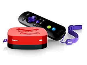 Roku 3100AB 1080p 2 XS Angry Birds Limited Edition Streaming Player - Red