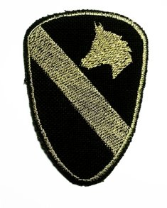 Amazon.com : U.S. Army 1st Cavalry Division Patch FOR COLLECTION BY