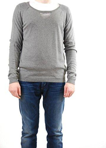 Eleven Paris Uomini magliata girocollo grigio scuro taglia XL