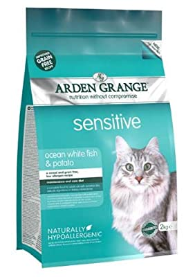 Arden Grange Adult Cat Sensitive Dry Cat Food