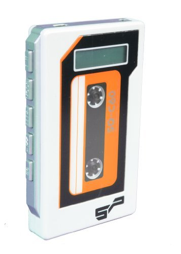 Spitfire Silver Cassette MP3 Player