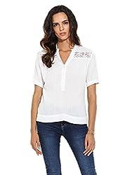 Hope and Luck Women's Straight Shirt(W-GC-B-104_White_Small)