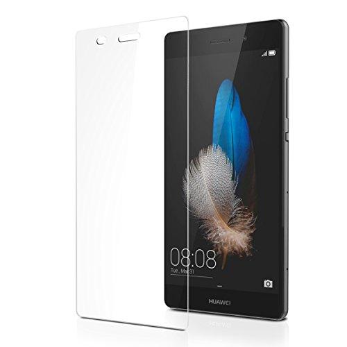 Huawei P8 Lite Pellicola Protettiva, AICEK P8 Lite Screen Protector Toccare Compatibile Pellicola Protettiva ultra resistente in vetro temperato per P8 Lite Vetro con Durezza 9H Trasparenza ad alta definizione