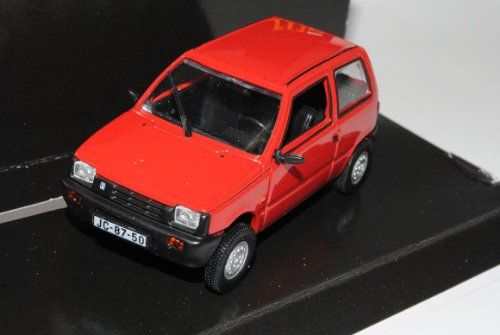 Lada 1111 VAZ 3 Türer Rot 1/43 Nash Avtoprom Modell Auto