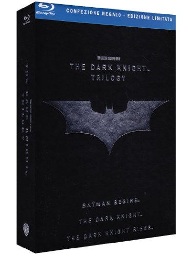 The dark knight trilogy (edizione tiratura limitata) (+book) [Blu-ray] [IT Import]
