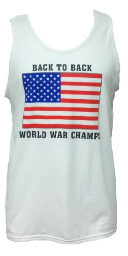 STink Clothing Men's USA Back To Back World War Champs Tank