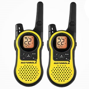 Motorola 23 Mile 2 Pack Lightweight Hands Free Communication Quiet Talk Filter Weather Channels By Motorola