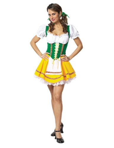 Beer Garden Girl X Sm Adult Womens Costume