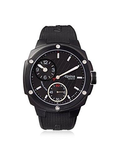 Alpina Men's Regulator Avalanche Black Stainless Steel Watch