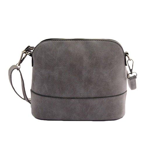 I9Q donne Vintage Scrub Pelle Satchel borsetta Tote Bag Messenger