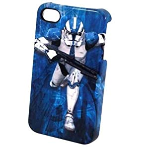 Star Wars Clone Trooper iPhone 4 Plastic Cover from Amazon