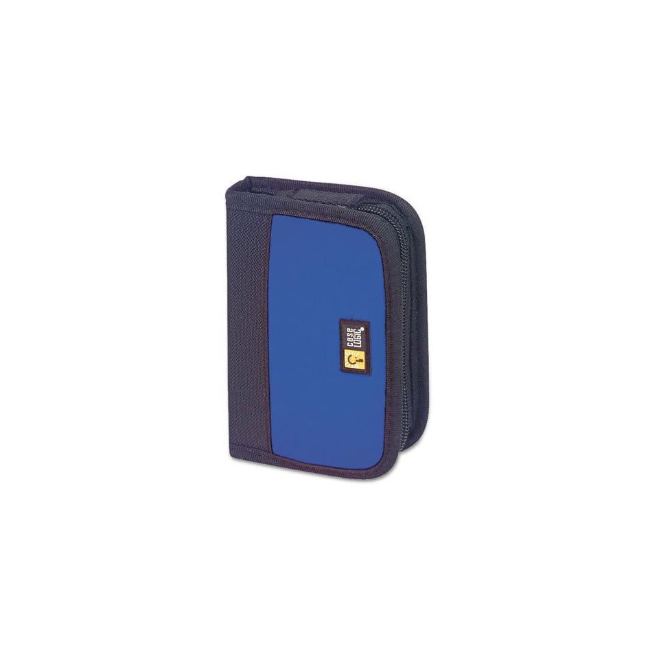 Case Logic® USB Drive Shuttle, Neoprene/Nylon, Blue  Office Presentation Supplies