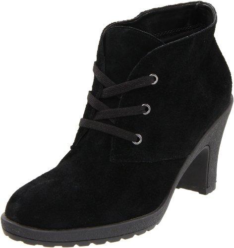 Aerosoles Women'S Ruffalo Wing Boot, Black Suede, 9 M Us