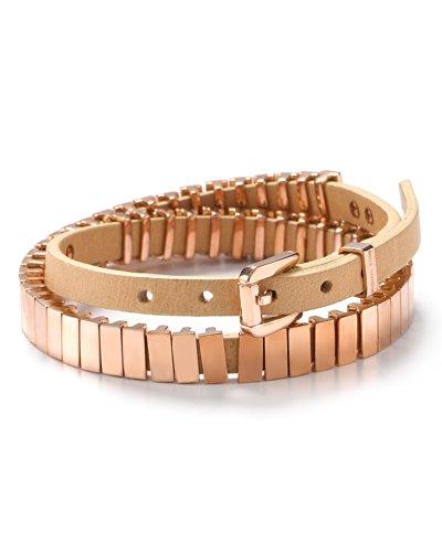 Michael Kors Thin Link Double Wrap Bracelet - Mkj1230791