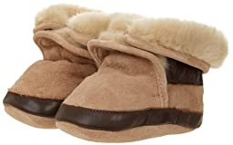 Robeez Cozy TP Crib Shoe (Infant/Toddler),Taupe,6-12 Months M US Infant