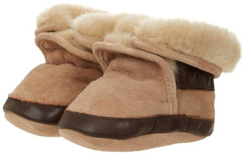 Robeez Cozy Tp Crib Shoe (Infant/Toddler),Taupe,6-12 Months M Us Infant front-995659